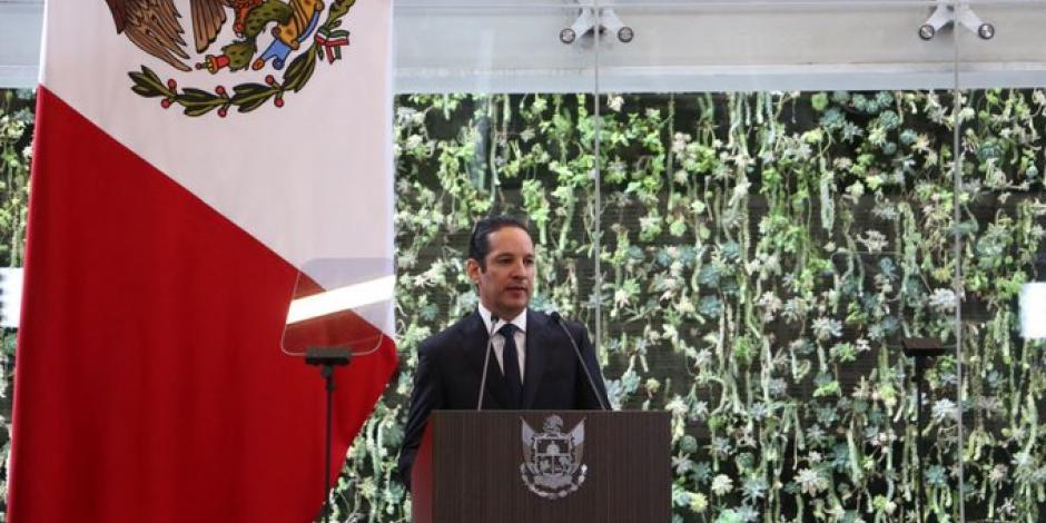 Esto informó Domínguez Servién en su 4to Informe como gobernador de Querétaro