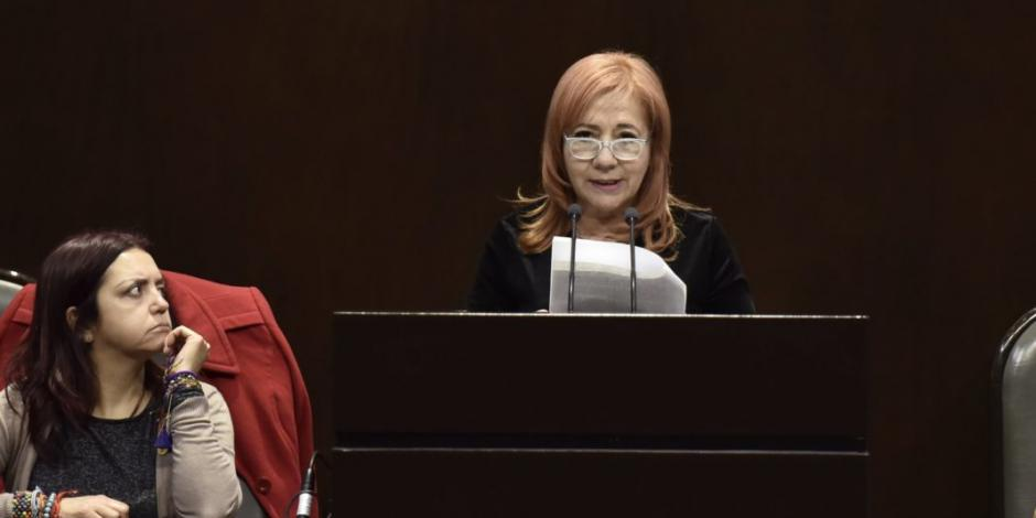 Rosario Piedra: No titubearé si debo emitir recomendación a AMLO