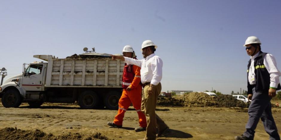 Verifica ASEA estado ambiental de terreno para refinería de Dos Bocas