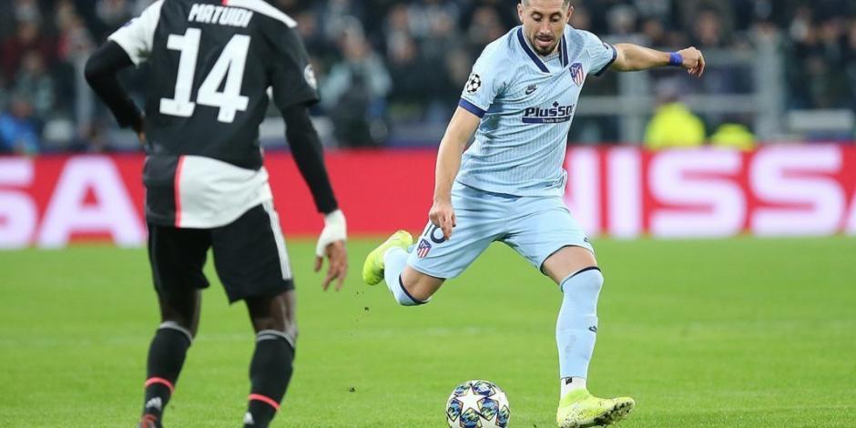 Herrera juega 60 minutos en derrota del Atlético frente a la Juventus