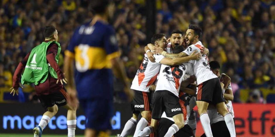 River Plate pierde, pero avanza a la final al eliminar a Boca Jr