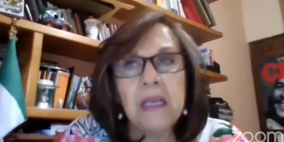 senadora morenista Martha Lucía Míche