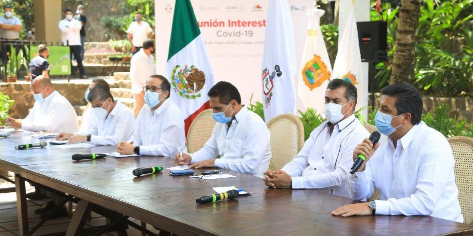 Gobernadores rechazan semáforo epidemiológico
