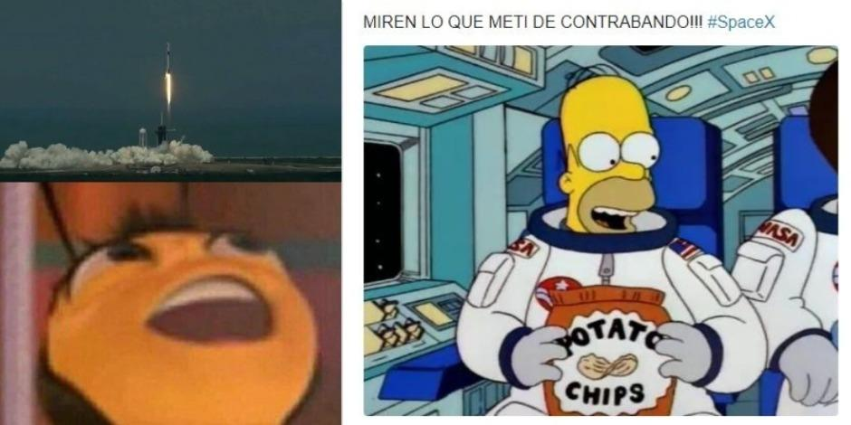 memes de Space x
