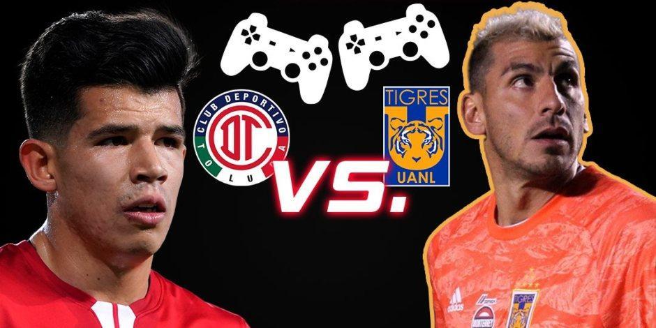 Toluca y Tigres dividen unidades en la Jornada 15 de la eLiga MX (VIDEO)
