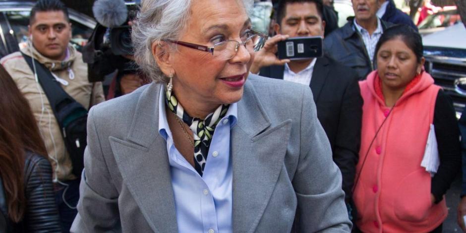 Sánchez Cordero reitera colaboración con entidad