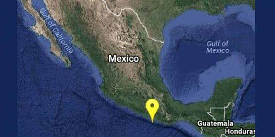 Reportan sismos de magnitudes 5.1 y 4.1 en Pinotepa Nacional, Oaxaca