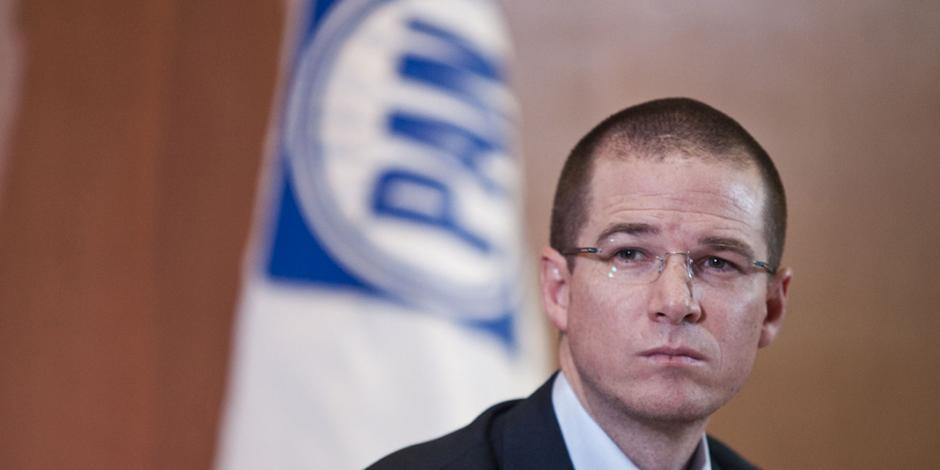 Tras denuncia en su contra ante la OEA, Anaya cancela visita a EU