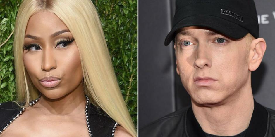 Nicki Minaj hace pública su relación con Eminem en Instagram