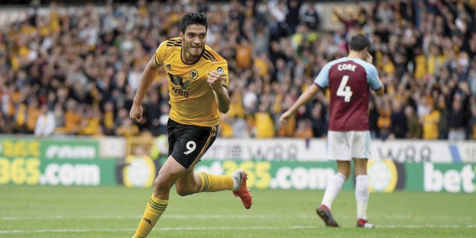 Jiménez anota; Wolves vence al Burnley