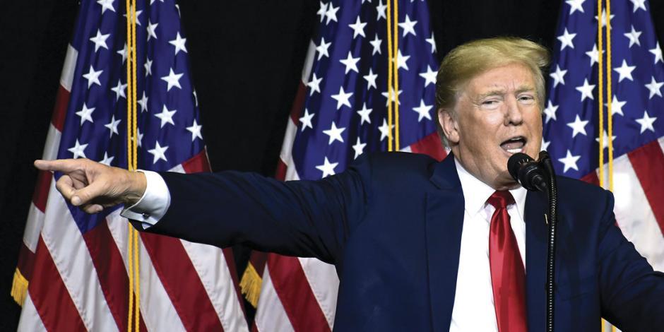 A 2 meses de comicios Trump se blinda ante injerencia extranjera