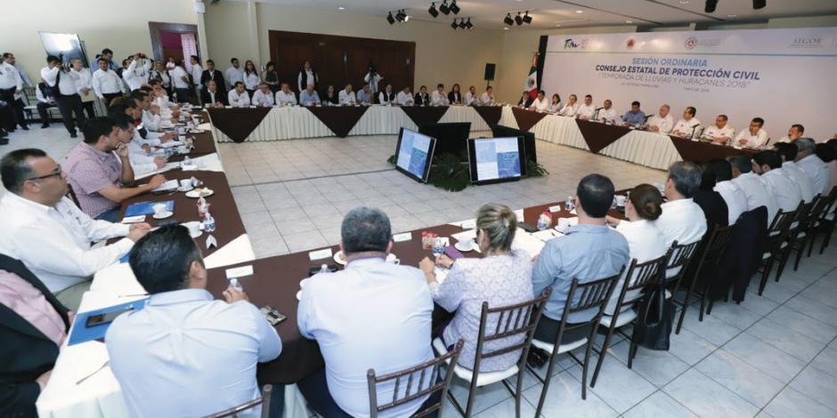 Tamaulipas se alista para  enfrentar lluvias y ciclones