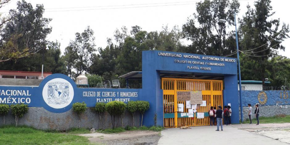 Denuncia UNAM presunto ataque contra alumna de CCH Naucalpan