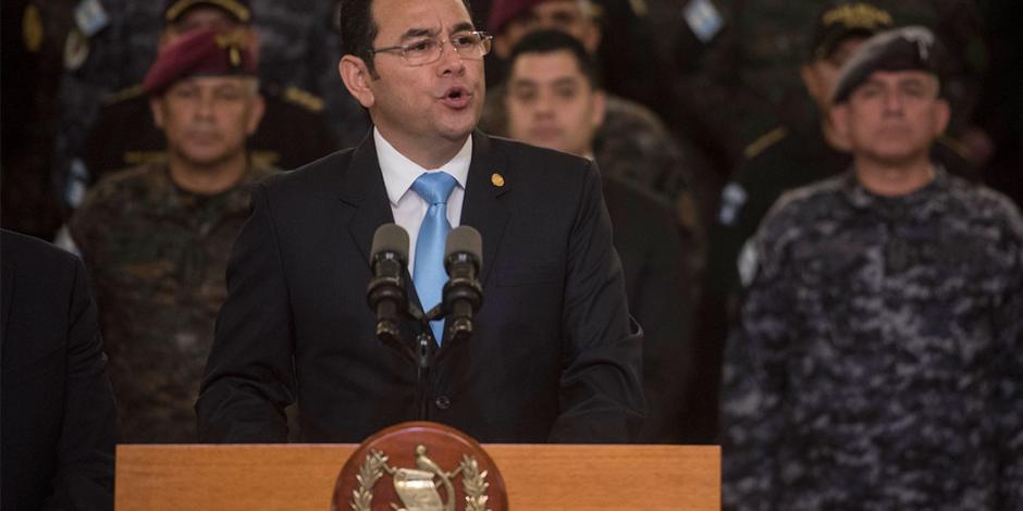 Guatemala echa del país a grupo anticorrupción de la ONU