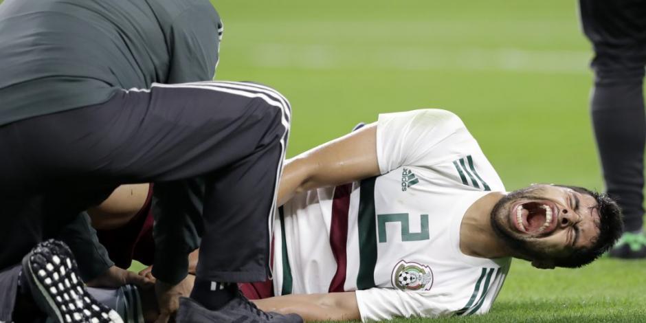 México pierde 1-0 contra Croacia... y a Salcedo y Araujo por lesiones
