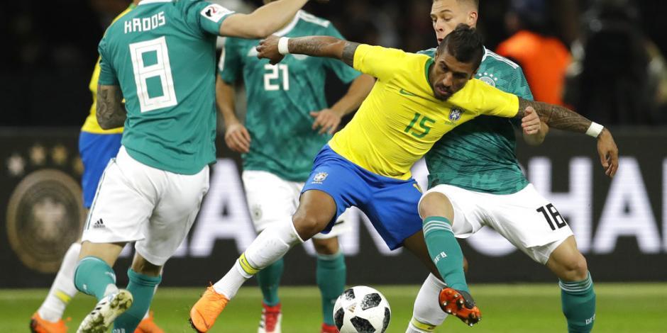 Brasil se venga de Alemania en Berlín y le rompe racha de 22 triunfos