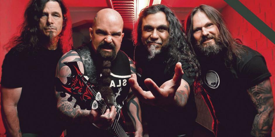 Con show de clase mundial Slayer se despide en México