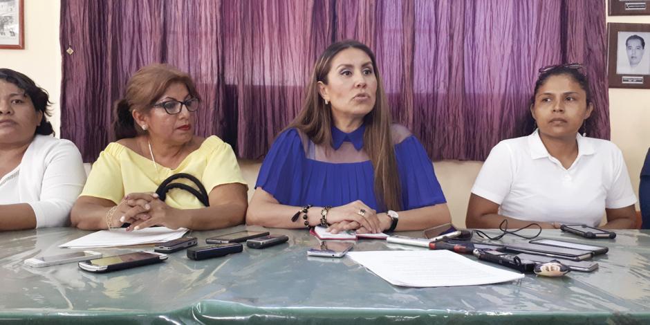 PRD incumple sentencia, acusa Zulma Carvajal