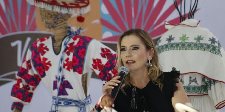 Con el arte, la sociedad siempre gana: Beatriz Gutiérrez Müller