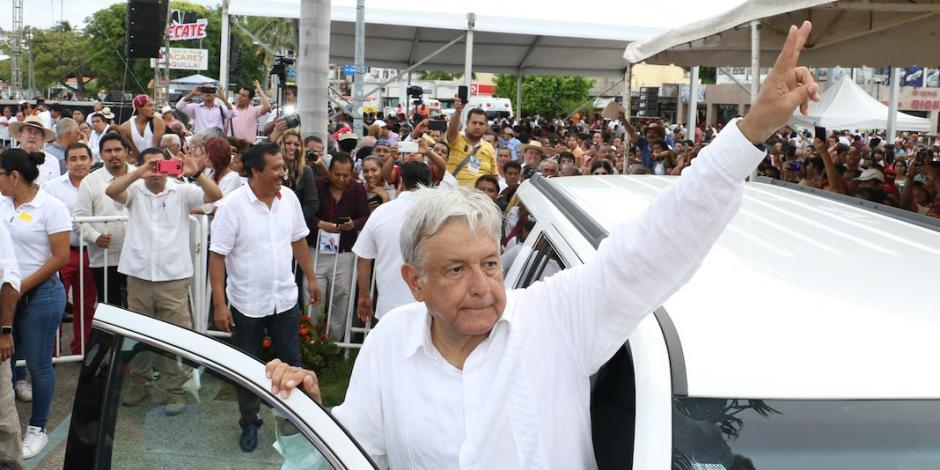 Reitera AMLO en Acapulco que en su gobierno habrá Mando Único