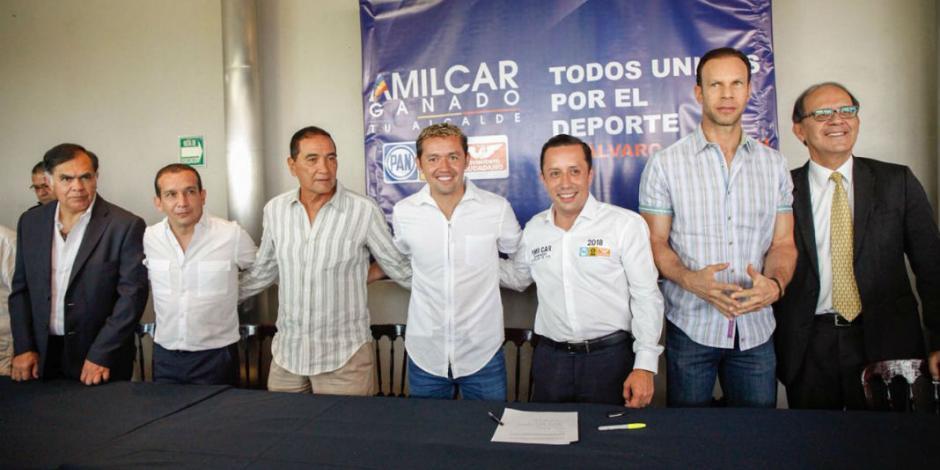 Con Zague, Pareja y Parejita, se compromete Amilcar con deporte en AO