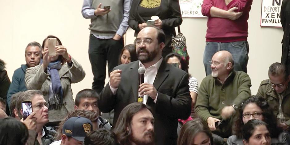 Álvarez Icaza critica los privilegios legislativos... y va por 9 mdp