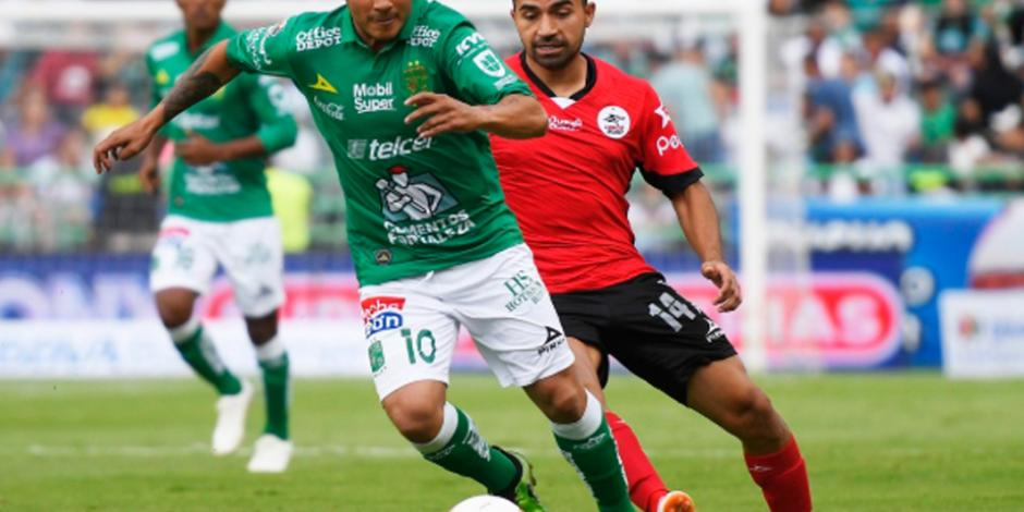 Por lluvia, suspenden enfrentamiento León vs Lobos BUAP
