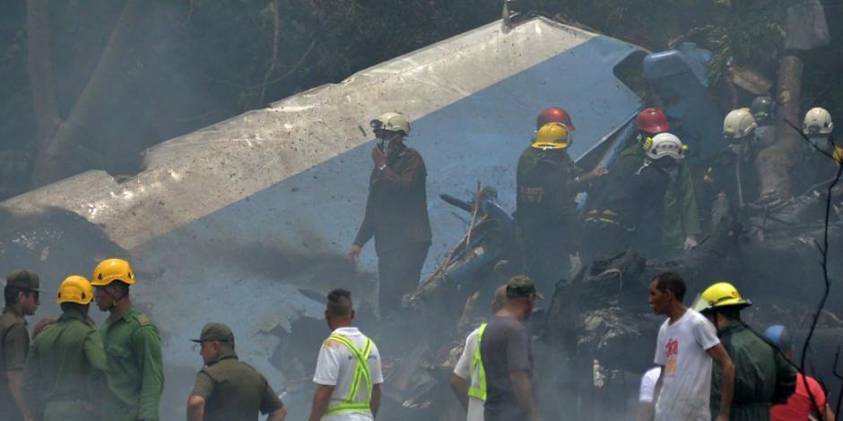 Identifican a otra víctima mexicana de avionazo en Cuba