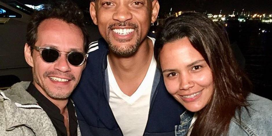 Marc Anthony enseña a Will Smith a bailar salsa al ritmo de