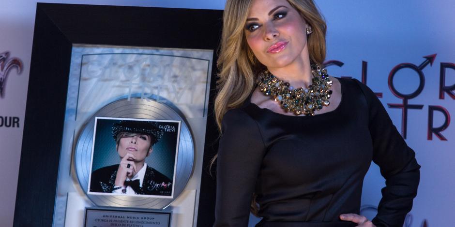 La Trevi, única mujer nominada al Salón de la Fama de Compositores
