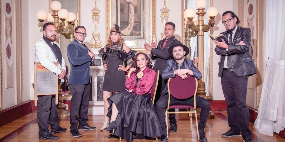 Calacas Jazz Band festeja con concierto