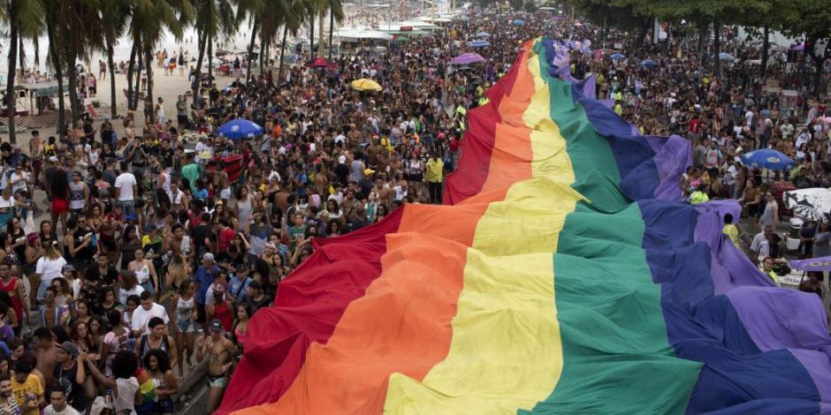 FOTOS: Realizan desfile del orgullo gay en Río de Janeiro