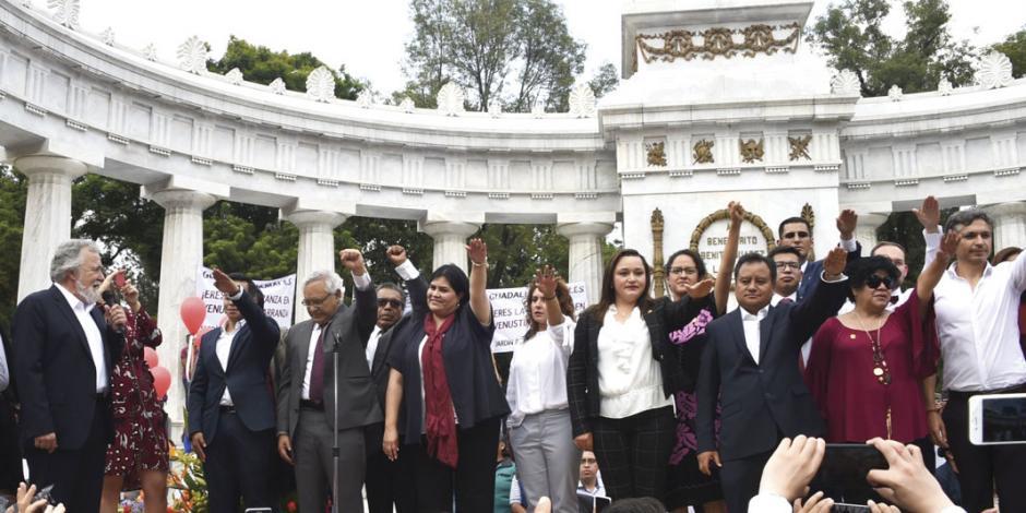 CRÓNICA: Del primer día... del primer Congreso de la CDMX