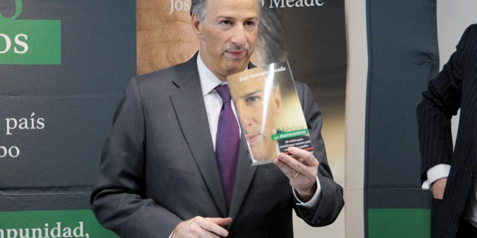 Meade presenta libro El México que merecemos