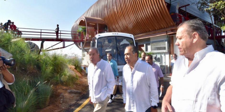 Entrega Héctor Astudillo obras de gran impacto turístico en Guerrero