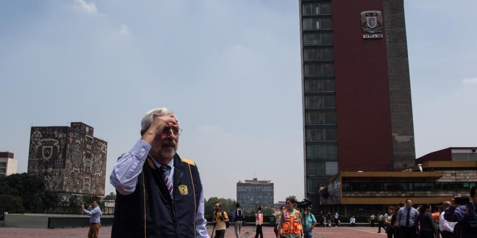 UNAM le da la vuelta a propuesta de crear policía universitaria