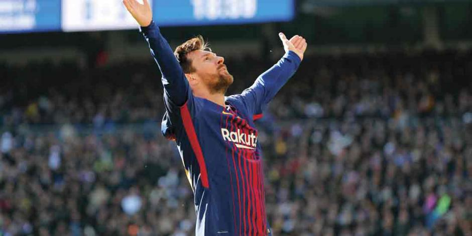 Messi anota su gol 600 y aleja 8 puntos al Barça del Atlético