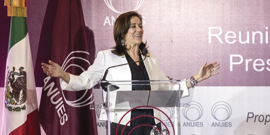 """Parar """"mensajes de odio"""", pide Zavala a AMLO"""