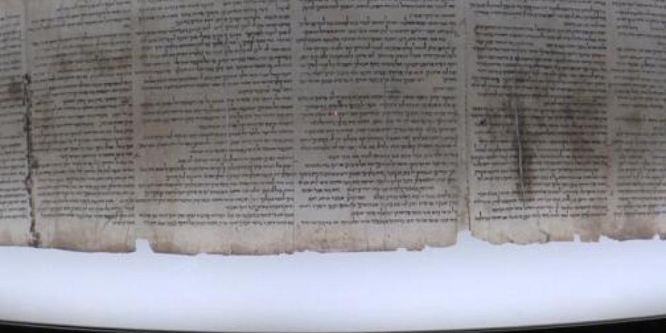 Exponen en Israel el manuscrito que narra la salida de Noé  tras el diluvio
