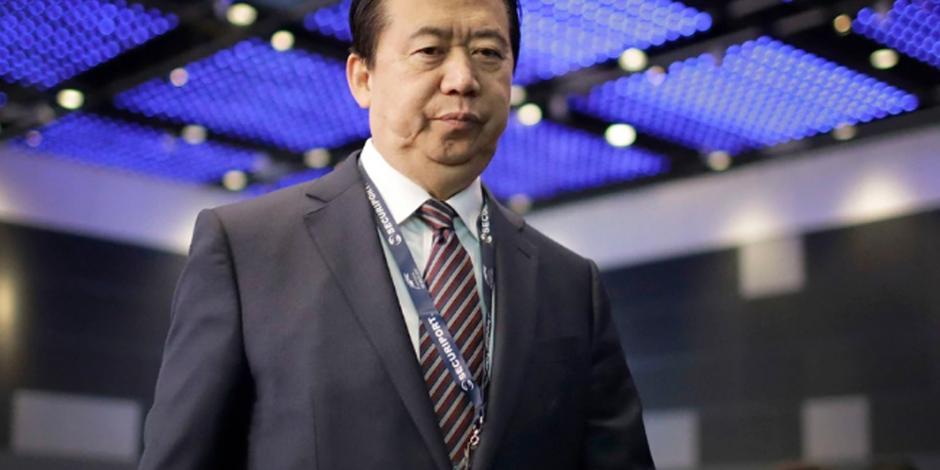 """""""En peligro"""", jefe de Interpol tras arresto en China"""