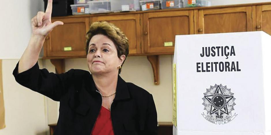 Rousseff cae al cuarto puesto y pierde escaño en el Senado