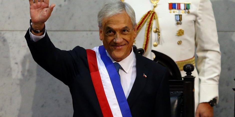 Por segunda ocasión, Sebastián Piñera asume la presidencia de Chile
