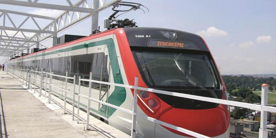 Tren México-Toluca, listo para agosto