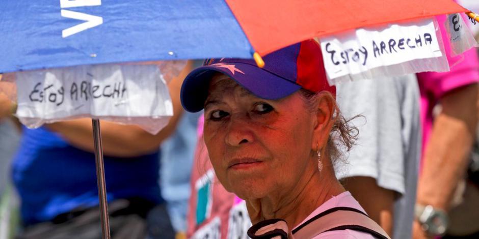 Oposición venezolana llama a protestas mundiales para rechazar elecciones