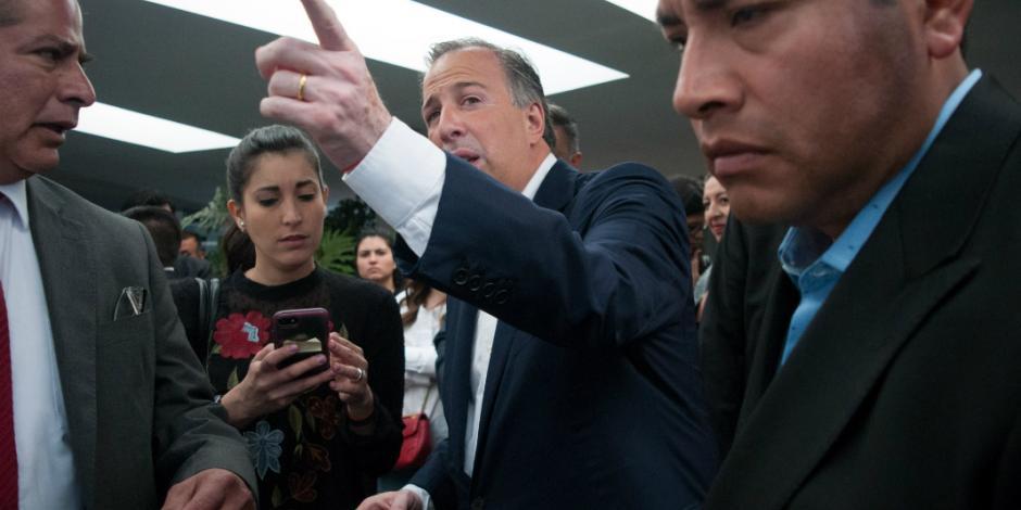 Impugna José Antonio Meade prohibición del INE de debatir en periodo de intercampaña