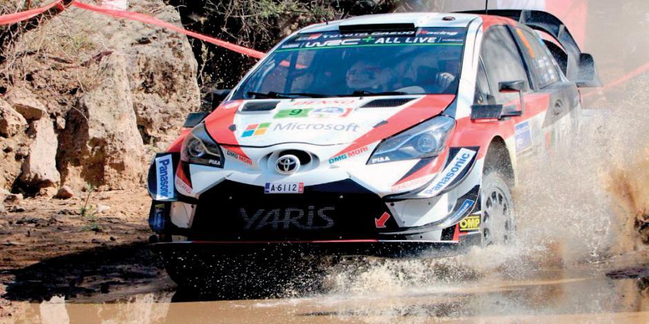 España lidera segundo día en el Rally México