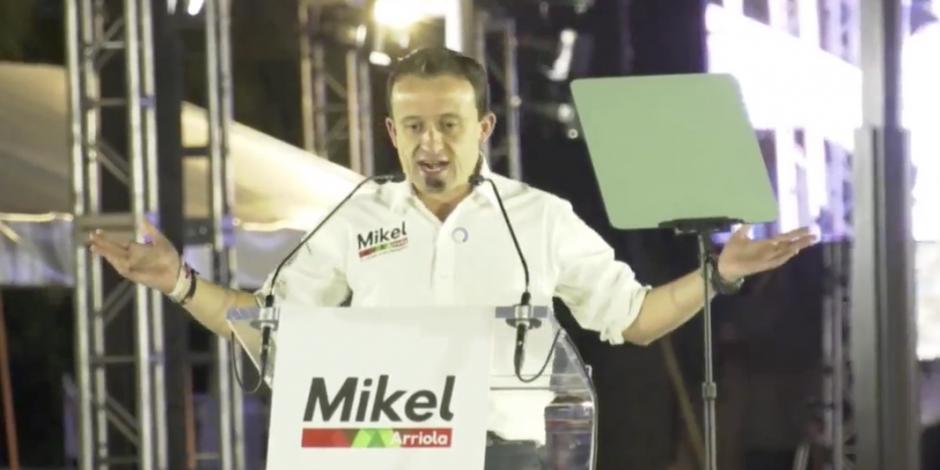 Reducción de edad penal, chips para delincuentes y cámaras, las propuestas de Mikel
