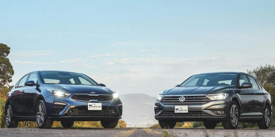 Frente a frente: Volkswagen Jetta y KIA Forte