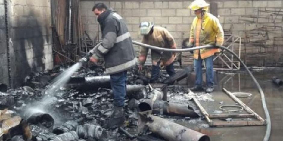 Deja 3 muertos y 2 heridos explosión de polvorines en Tlaxcala