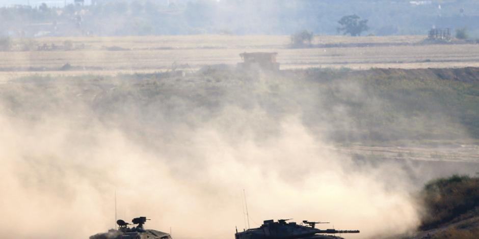 Israel responde a nuevo bombardeo de Palestina